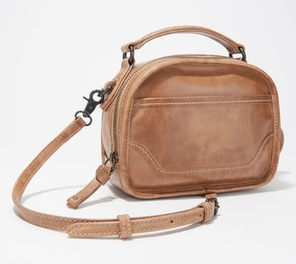 Frye Leather Melissa Top Handle Crossbody