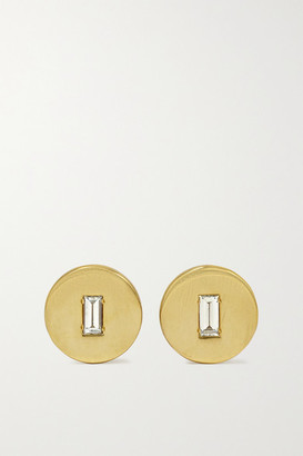 Ileana Makri 18-karat Gold Diamond Earrings - one size