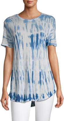 Lord & Taylor Tie-Dye Short Sleeve T-Shirt