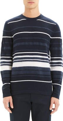 Theory Men's Hills Stripe Cashmere Sweater