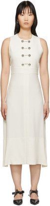 Proenza Schouler Off-White Barbell Dress