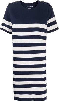 Majestic Filatures striped T-shirt dress
