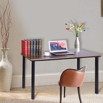 Inbox Zero Household Study Office Workstation Desk and Chair Set