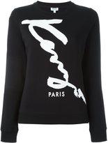 Kenzo 'Signature Kenzo' sweatshirt - women - Cotton - XS