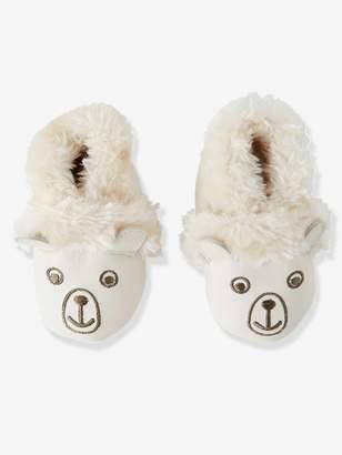"Vertbaudet Soft Leather ""Bear"" Shoes for Babies"