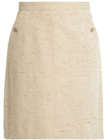 A.P.C. Workwear cotton-blend skirt