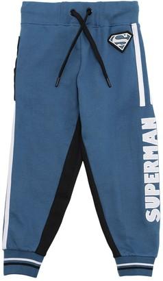Fabric Flavours Superman Print Cotton Sweatpants