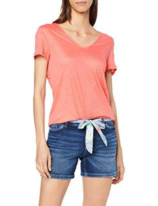 Esprit Women's 069ee1k009 T-Shirt,Small