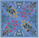 Gucci New Flora print silk carre