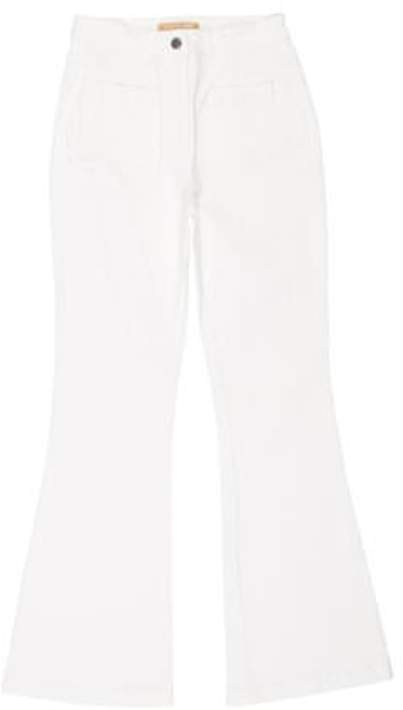 Michael Kors Mid-Rise Flared Jeans Mid-Rise Flared Jeans