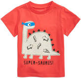 First Impressions Super-Saurus-Print Cotton T-Shirt, Baby Boys, Created for Macy's