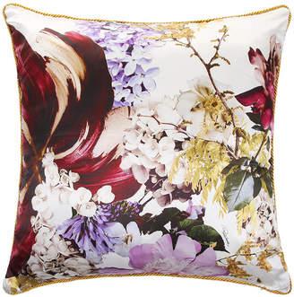 Roberto Cavalli Floris Silk Reversible Bed Cushion - 001 - 60x60cm