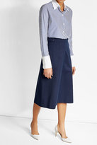 Vanessa Seward Cotton A-Line Midi Skirt