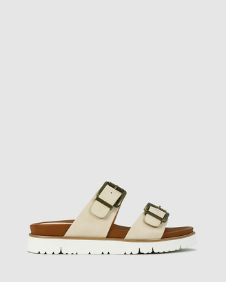 Los Cabos - Women's Brown Flat Sandals - Carter - Size One Size, 38 at The Iconic