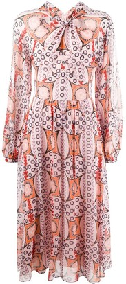 Temperley London Printed Twist Dress