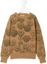 Etiket - cog print jumper - kids - Cotton - 6 yrs
