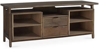 Winston Media Console - Natural - Brownstone Furniture