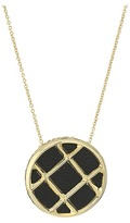 House Of Harlow Phoebe Caged Pendant Necklace