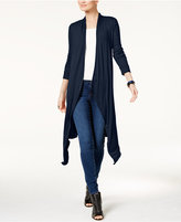 INC International Concepts Ribbed Duster Cardigan, Only at Macy's