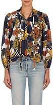 Warm Women's Mystic Floral Cotton Tunic