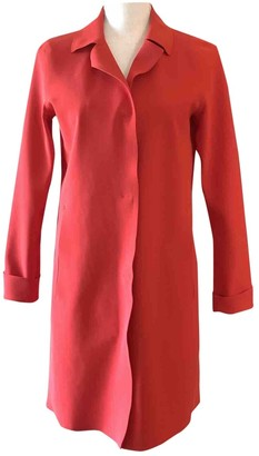 Herno Red Polyester Coats
