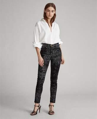 Ralph Lauren Tompkins High-Rise Skinny Jean