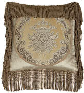 "Austin Horn Classics Marquis Framed Pillow with Bullion Fringe, 18""Sq."