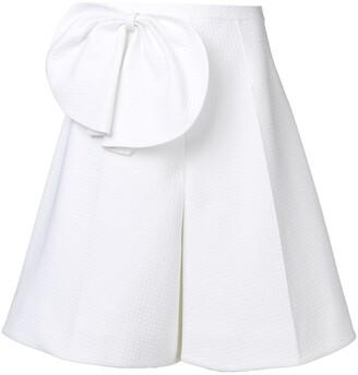 DELPOZO Bow-Embellished Shorts
