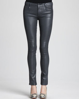 Theyskens' Theory Pathen Coated Skinny Jeans