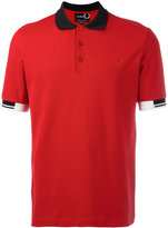 Fred Perry tipped cuff polo shirt - men - Cotton - 44