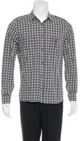 Neil Barrett Plaid Woven Shirt