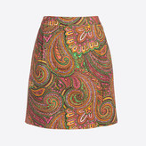 J.Crew Factory Printed basketweave mini skirt