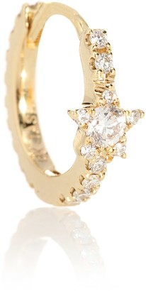 Maria Tash Diamond Star Eternity 18kt gold single earring with diamonds
