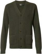 Rrl patch pockets buttoned cardigan