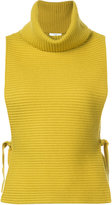 Tome sleeveless ribbed top