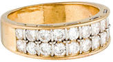 Cartier 18K Double Row Diamond Band