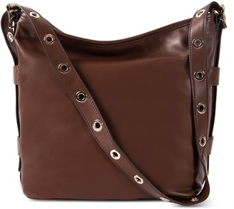 Aimee Kestenberg Buckle Up Leather Bucket HoboBag