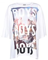 Fausto Puglisi Printed Oversized T-shirt