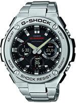 G-Shock Black Dial Stainless Steel Bracelet Watch
