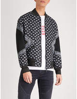 Neil Barrett Bandana-print shell bomber jacket