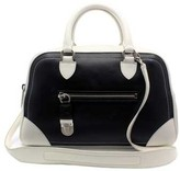 "Marc Jacobs C3131025"" Venetia Black & White Leather Shoulder Bag"