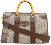 Gucci Soft GG Supreme duffle bag - men - Cotton/Leather - One Size