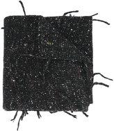 Maison Margiela speckled knit scarf