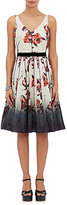 Marc Jacobs WOMEN'S FLORAL-PRINT SATEEN FIT & FLARE DRESS