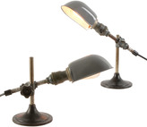 Rejuvenation Pair of Mid-Century O.C. White Laboratory Lamps