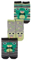 Tucker + Tate Infant Boy's Assorted 3-Pack Frog Socks