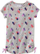 Osh Kosh Girls 4-8 Heart Cinched Tunic