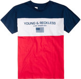 Young & Reckless Men's Colorblocked Graphic-Print T-Shirt