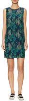 M Missoni Silk Printed Cactus Short Dress