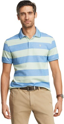 Izod Men's Sportswear Advantage Classic-Fit Striped Performance Polo